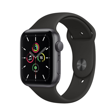 Apple Watch SE GPS 40mm Aluminum Case with Sport Band Black MYDP2RU/A