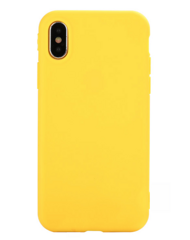 Силиконовый чехол iLike TPU Silicone Case для iPhone Xr - Yellow