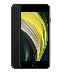 Смартфон Apple iPhone SE (2020) 64GB Black A2275 SlimBox