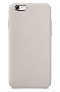Клип-кейс iLike Silicon Case для iPhone 6 / 6s - Stone (Бежевый)