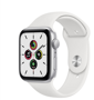 Apple Watch SE GPS 40mm Aluminum Case with Sport Band White MYDM2RU/A