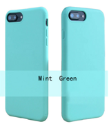 Силиконовый чехол BeeBase Color Series для iPhone 7/8 Plus - Mint Green