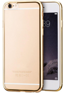 Силиконовый чехол HOCO Ultra Thin Transparent TPU Cover Case для iPhone 6 / 6s - Gold