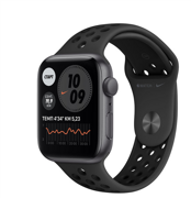 Apple Watch SE GPS 40mm Aluminum Case with Nike Sport Band Anthracite/Black MYYF2RU/A