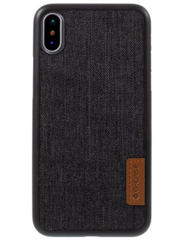 Чехол G-CASE Dark Series для iPhone Xs Max - Gray / Canvas