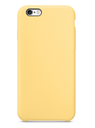 Клип-кейс iLike Silicon Case для iPhone 6 / 6s - Yellow (Желтый)
