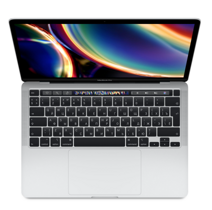 Ноутбук Apple MacBook Pro 13 with Retina True Tone (Mid 2020) - Silver MXK62RU/A