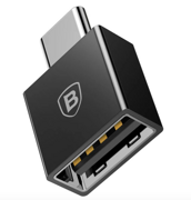 Адаптер Baseus USB Type-C to Type-A - Black