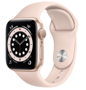 Apple Watch Series 6 GPS 44mm Aluminum Case with Sport Band Pink Sand M00E3