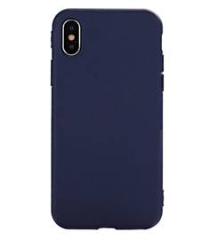 Силиконовый чехол iLike TPU Silicone Case для iPhone Xs Max - Dark Blue
