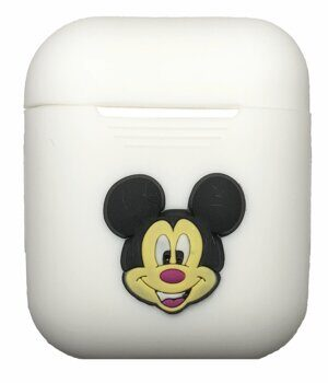 Силиконовый чехол iLike Toys для Apple AirPods - White / Mickey Mouse