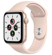 Apple Watch SE GPS 44mm Aluminum Case with Sport Band Pink Sand MYDR2RU/A