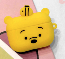 Силиконовый чехол iLike Toys для Apple AirPods Pro - Yellow / Pooh