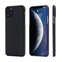 Кевларовый чехол Pitaka MagCase для Apple iPhone 11 Pro Max - Черно-Серый